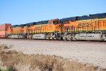 BNSF 6620 rolls east with her sister (ES44C4) in front of her BNSF 6627.